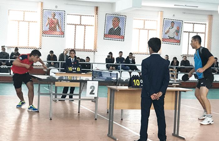 Дар Душанбе чемпионат оид ба тенниси рӯи миз доир шуд