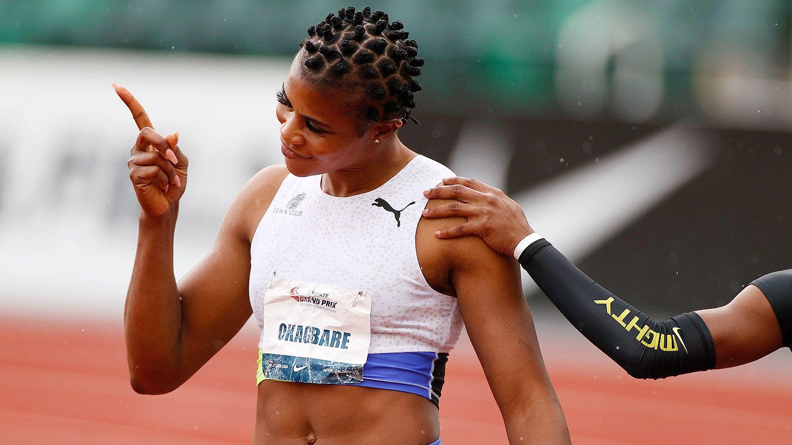 На Олимпиаде второй допинговый случай. Поймали нигерийскую легкоатлетку