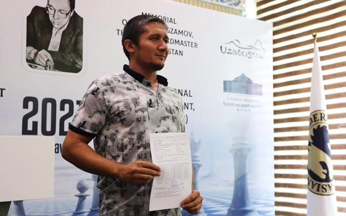 Таджикский шахматист выиграл бронзу в Ташкенте