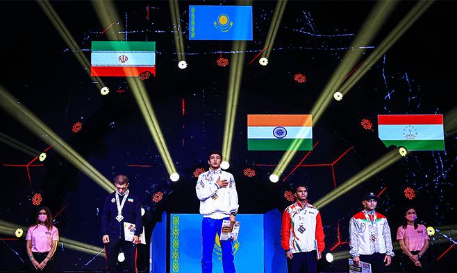 С чемпионата Азии – с наградами