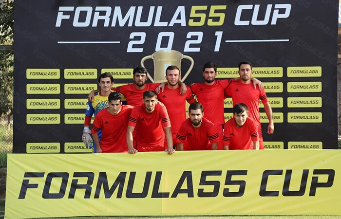 Компания «Formula55» дала старт открытию турнира по мини-футболу «FORMULA55 CUP-2021»