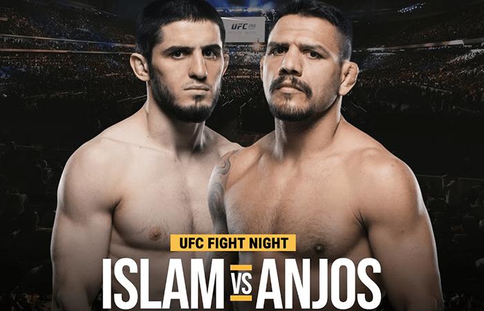 Дос Аньос снялся с боя против Махачева на UFC 267