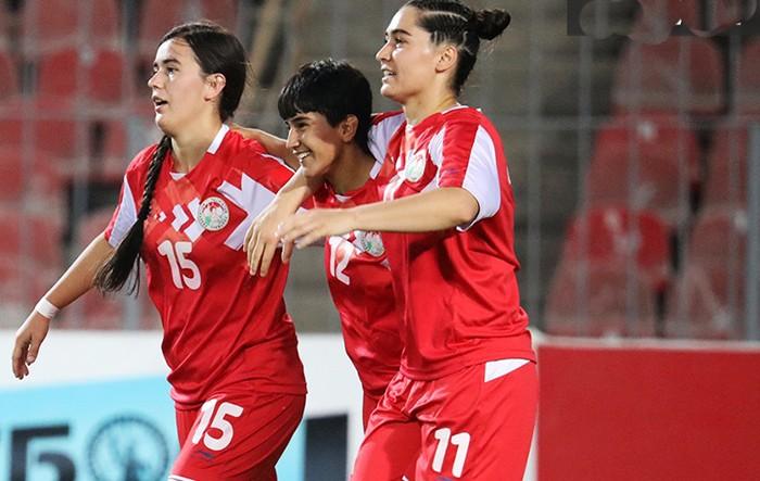 Женская сборная Таджикистана обыграла Мальдивы
