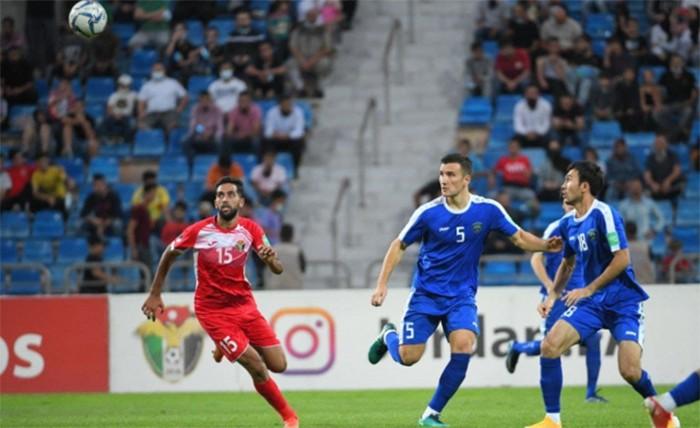 Узбекистан крупно проиграл Иордании