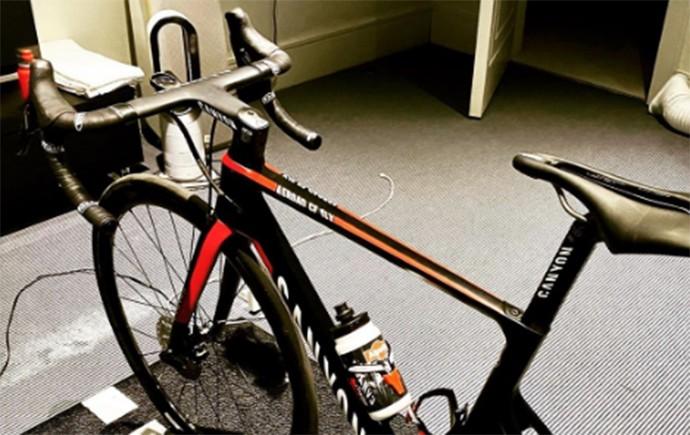 У спортсмена отобрали велосипед за 10 тысяч долларов